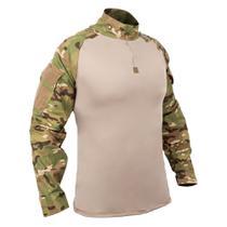 Camisa Combat Shirt Bravo Tática - Multicam -