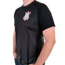 Camisa Corinthians Preto Listra Oficial - SPR