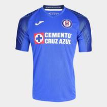 Camisa Cruz Azul Home 19/20 s/nº Torcedor Joma Masculina -