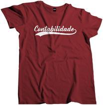 Camisa Curso Profissão Faculdade Contabilidade Fac 128 - Dunose Estamparia