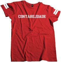 Camisa Curso Profissão Faculdade Contabilidade Fac 132 - Dunose Estamparia