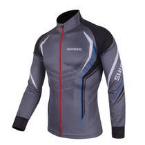 Camisa De Ciclismo Pesca Shimano Proteção UV Cinza - Lei li imports