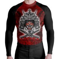 Camisa de Compressão Red Samurai - Atlética Esportes