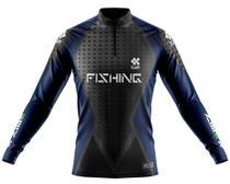 Camisa De Pesca Ziiip Protecao Solar Uv 50 CP019AZ armor -