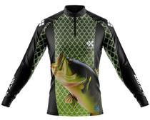 Camisa De Pesca Ziiip Protecao Solar Uv 50 CP024VD -