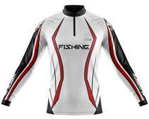 Camisa De Pesca Ziiip Protecao Solar Uv 50 Cp029br Armor -