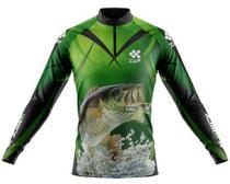 Camisa De Pesca Ziiip Protecao Solar Uv 50 Cp031vd -