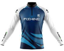 Camisa De Pesca Ziiip Proteção Solar Uv 50 CP041az -