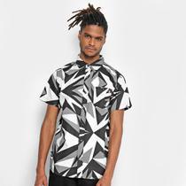 Camisa Ecko Manga Curta Estampada Masculina -