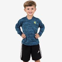 2fb62c1a9 Camisa Esporte Legal Infantil Manga Longa Plank UV45+