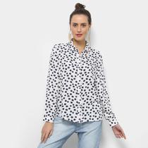 Camisa Facinelli Floral Pequeno Feminina -