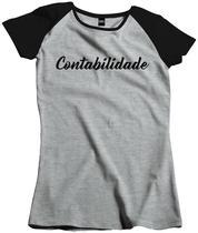 Camisa Feminina Faculdade Curso Contabilidade Fac 129 - Dunose Estamparia