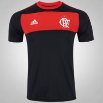 Camisa Flamengo Adidas Algodão Preta -