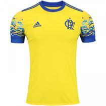 Camisa Flamengo Adidas III Amarela 2017 -