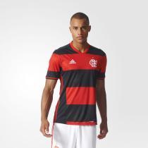 7838179082e Camisa Flamengo Adidas Rubro Negra Jogo 2016 Torcedor