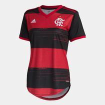 Camisa Flamengo I 20/21 s/n Torcedor Adidas Feminina -