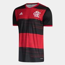 Camisa Flamengo I 20/21 s/n Torcedor Adidas Masculina -