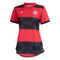 Camisa Flamengo I 21/22 s/n Torcedor Adidas Feminina -