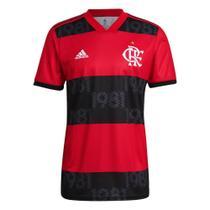 Camisa Flamengo I 21/22 s/n Torcedor Adidas Masculina -
