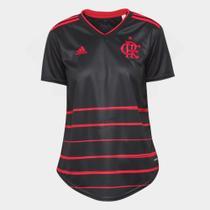 Camisa Flamengo III 20/21 s/n Torcedor Adidas Feminina -