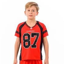 Camisa Flamengo Infantil Bion Raglan - Braziline