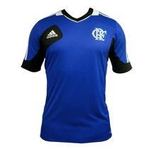 Camisa Flamengo Treino adidas Original 2013 Azul -