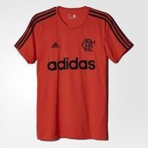 Camisa Flamengo Vermelha Algodão adidas 2016 -