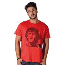 Camisa Flamengo Zico Boss Braziline -