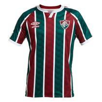 Camisa Fluminense I 20/21 s/n Torcedor Umbro Masculina -