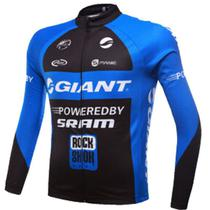Camisa Giant Manga Longa Ciclismo Esportes Bike Mtb Dry Fit - Decole
