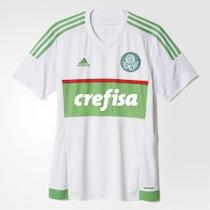 Camisa Goleiro GK Palmeiras Branca Crefisa 2017 -