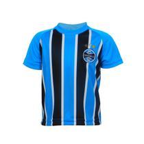 Camisa Grêmio Dry Bebê Tricolor - Oldoni