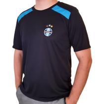 Camisa Grêmio Dry Casual Preta Licenciada Oficial - Oldoni Sports