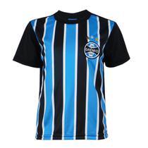 Camisa Grêmio Dry Infantil Tricolor Original Torcedor -