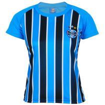 Camisa Grêmio Feminina Dry Tricolor - Oldoni