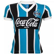 Camisa Gremio Feminina Retro Coca-Cola 1989 -