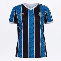 Camisa Grêmio I 20/21 s/n Estádio Umbro Feminina -