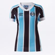 Camisa Grêmio I 21/22 s/n Torcedor Umbro Feminina -