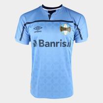 Camisa Grêmio III 20/21 Masculina - Azul+Marinho - DASS
