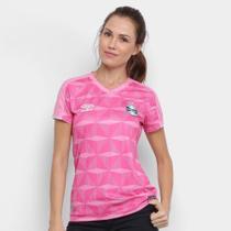 Camisa Grêmio Outubro Rosa 19/20 s/n Umbro Feminina -