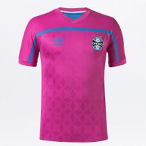 Camisa Grêmio Outubro Rosa 20/21 s/n Torcedor Umbro Masculina -