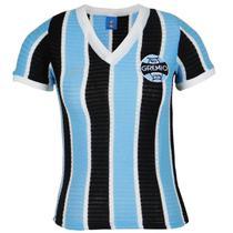 Camisa Grêmio Retrô 1973 Nº7 Feminina - Oldoni
