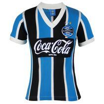 Camisa Grêmio Retrô Coca-Cola 1989 N8 Feminina - Oldoni