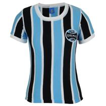 Camisa Grêmio Retrô N 3 Feminina - Oldoni