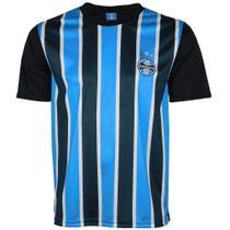 Camisa Grêmio Tricolor Bordado Masculina Original Torcedor -