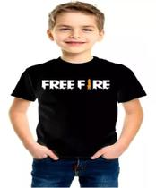 Camisa infantil free fire camiseta unissex battle royale - Tony Modas