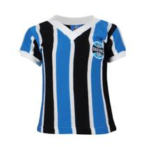 Camisa Infantil Grêmio Retrô Libertadores 1983 Gola V Nº 7 -