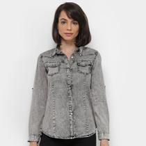 Camisa Jeans Extin Feminina -