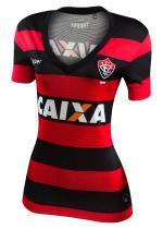 Camisa Jogo 1 Feminina Vitória Topper 2017 List -