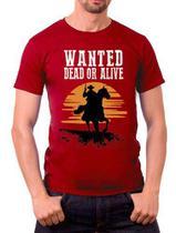 Camisa Jogo Red Dead Redemption - Cogumelo Corp